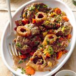 Pressure-Cooker Beef Osso Bucco