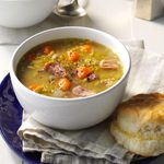 Split Pea Soup with Ham & Jalapeno