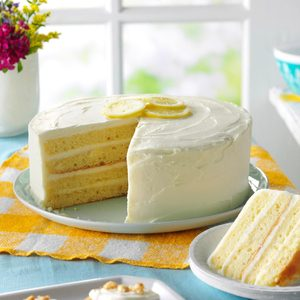 26 Zesty Lemon Cake Recipes