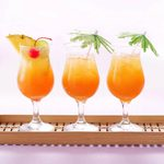 Get Vacation in a Glass with This Pineapple Rum Punch Recipe