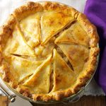 Browned Butter Apple Pie with Cheddar Crust