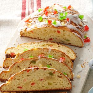 Almond-Filled Stollen