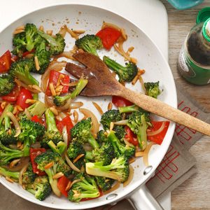 Almond Vegetable Stir-Fry