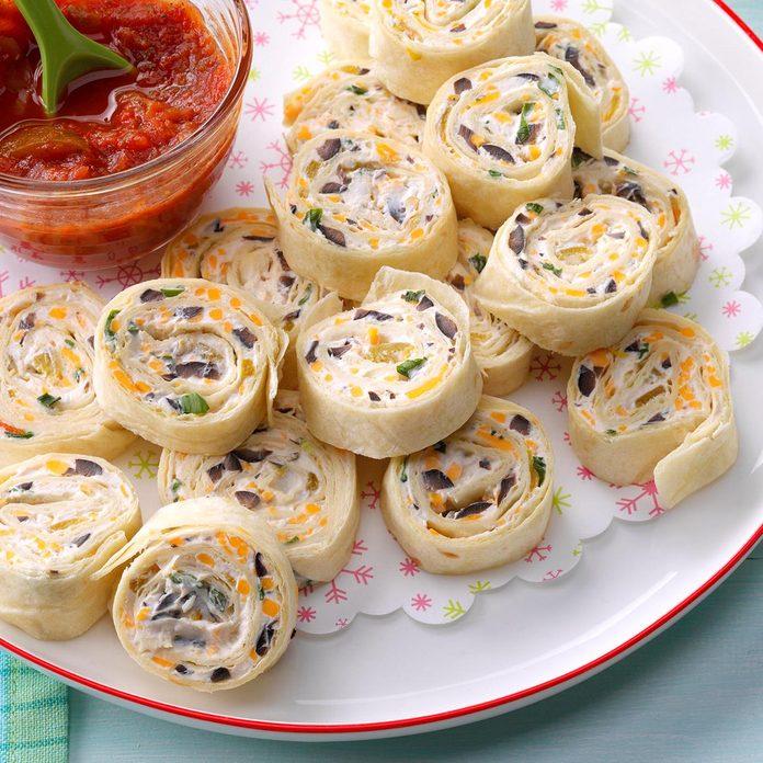 Ohio: Appetizer Tortilla Pinwheels