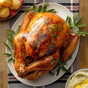 Apple & Herb Roasted Turkey