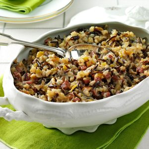 Apple & Sausage Wild  Rice
