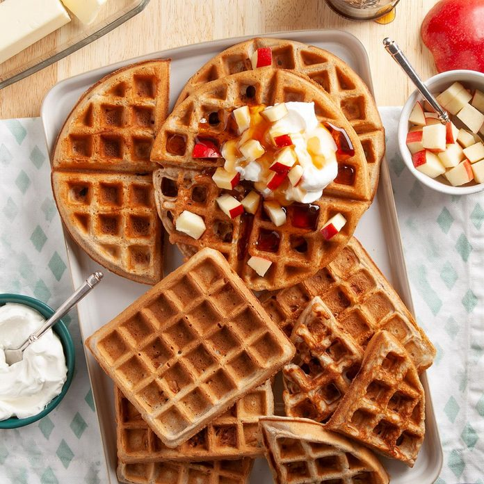Apple Spice Waffles