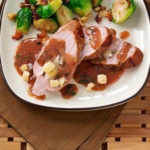 Apple-Stuffed Pork Tenderloins