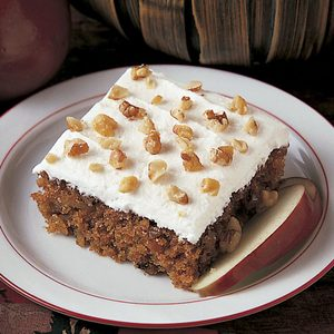 Apple Walnut CakeV