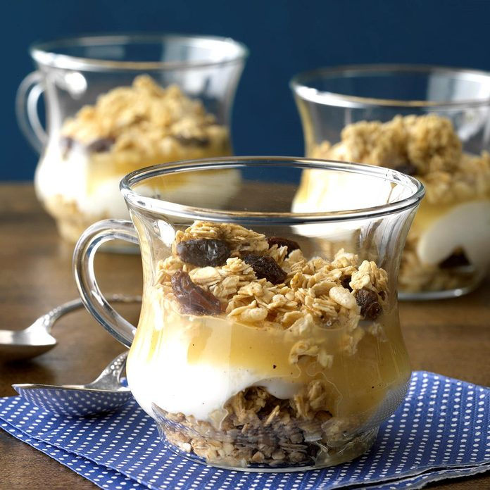 Apple Yogurt Parfaits