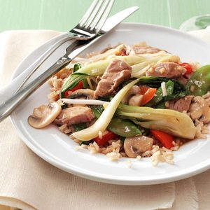 Asian Pork Stir-Fry