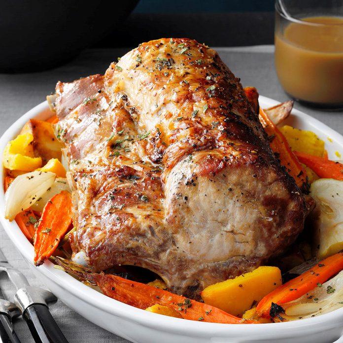 Autumn Pork Roast