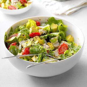 Avocado Turkey Salad