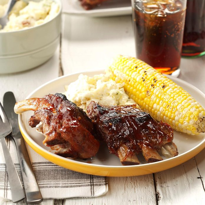 Inspired by: Double-Glazed Baby Back Ribs