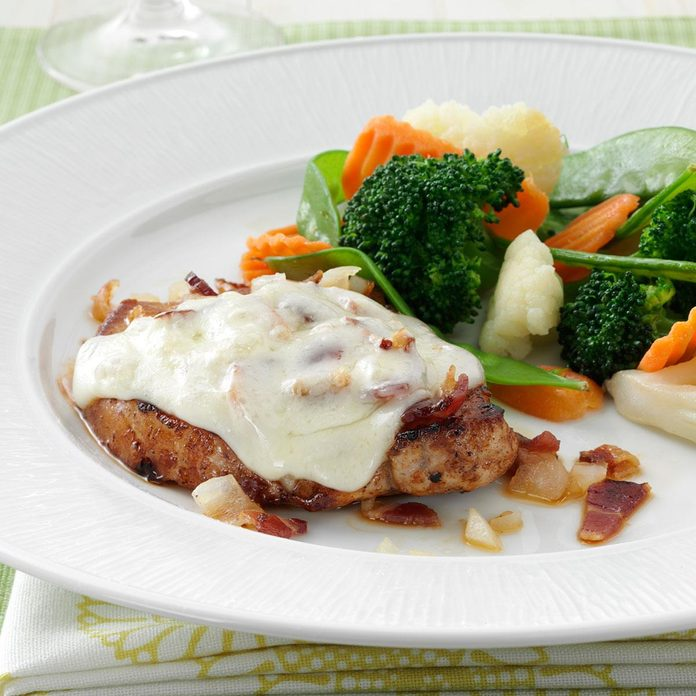Bacon-Swiss Pork Chops