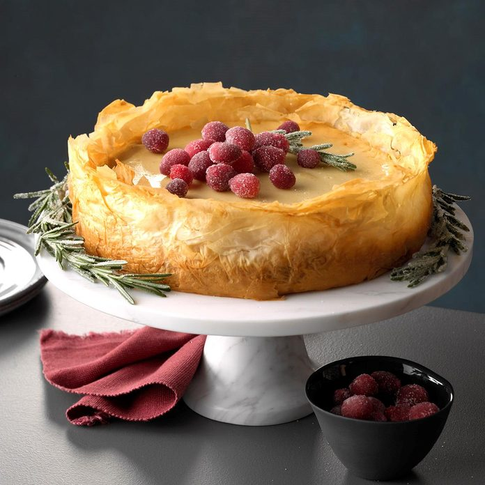 Louisiana: Baklava Cheesecake