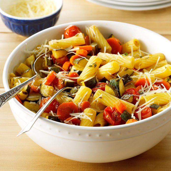 Balsamic Roasted Vegetable Primavera