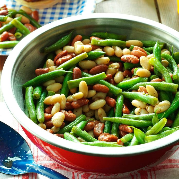 Balsamic Three-Bean Salad