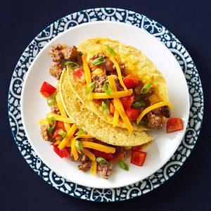 Beef & Bean Tacos