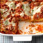 Beef and Spinach Lasagna