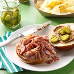 Beer-Braised Pulled Ham