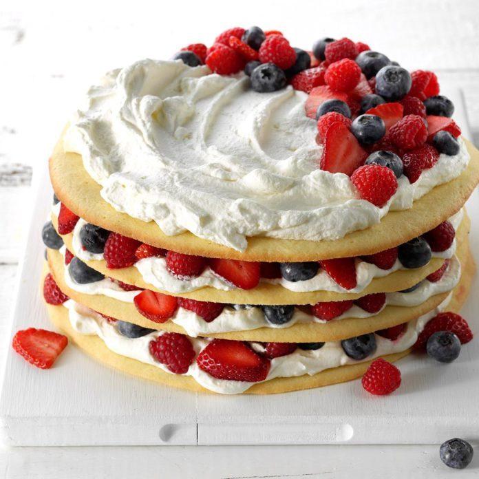 Berries & Cream Torte