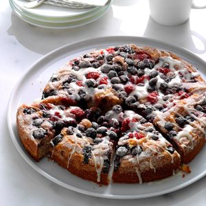 Berry-Topped Coffee Cake