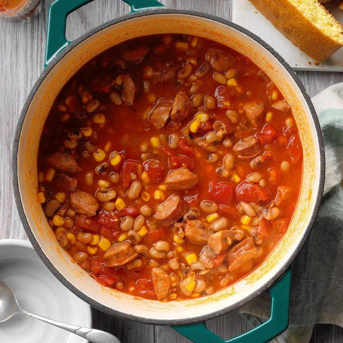 Black-Eyed Pea Sausage Stew