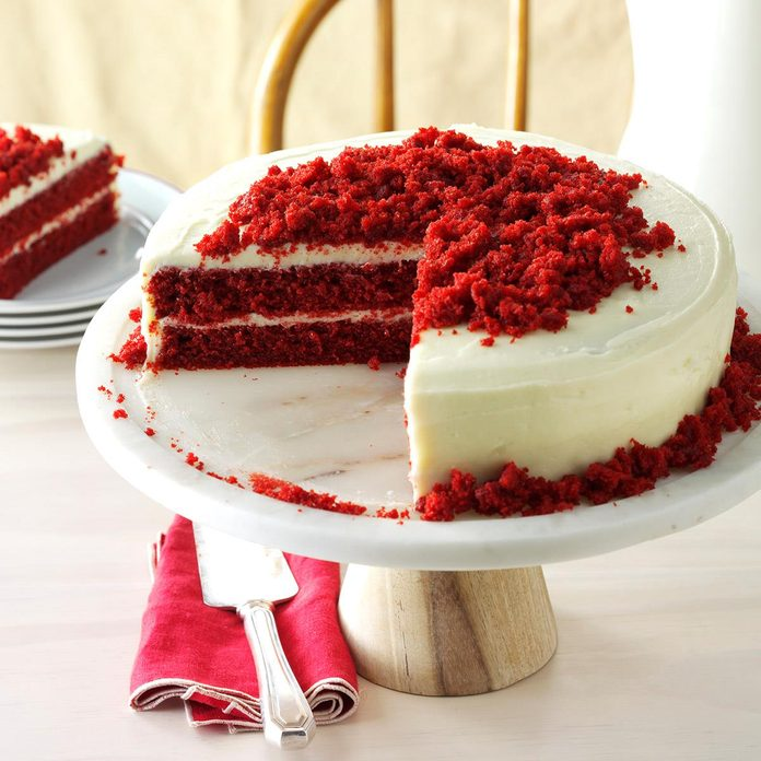 Blue Ribbon Red Velvet Cake
