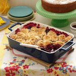 Blueberry-Apple Cobbler with Almond Topping