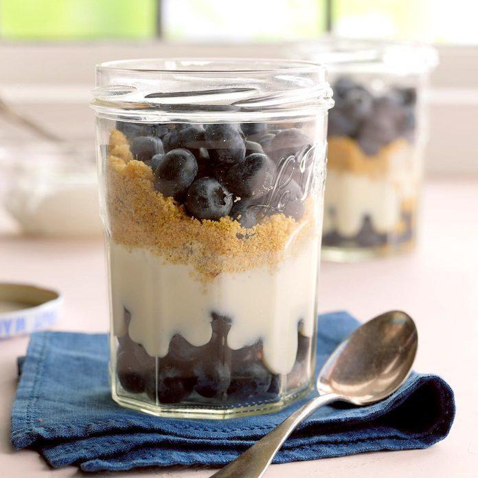 Blueberry Graham Dessert
