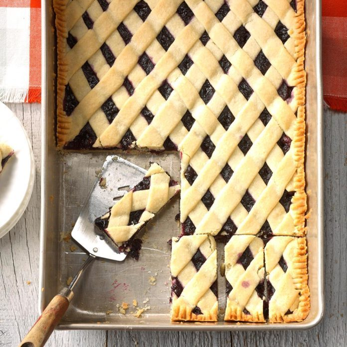 Blueberry Lattice Bars