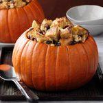 Bread Pudding Pumpkin