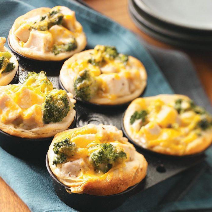 Broccoli-Chicken Cups