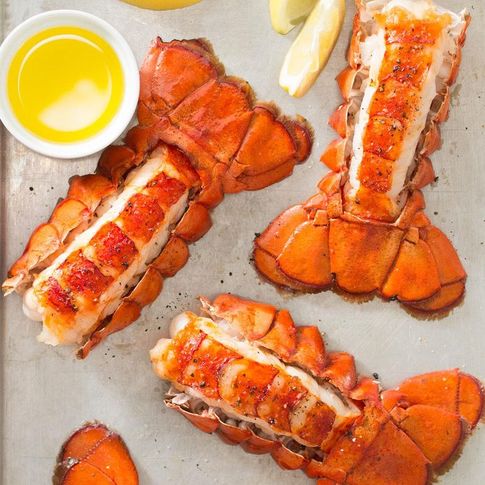 Inspired by Fleming's Lobster Tails with Drawn Butter