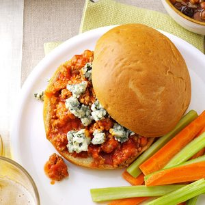 Buffalo Sloppy Joes for Two