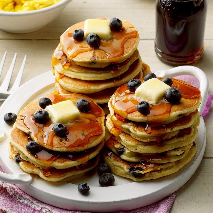 Buttermilk Blueberry Pancakes
