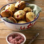Buttermilk Cranberry Muffins