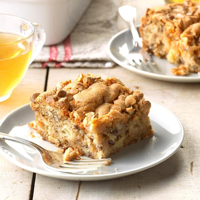Butterscotch Apple Cake