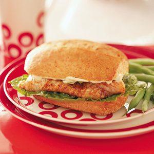 Cajun Catfish Sandwiches