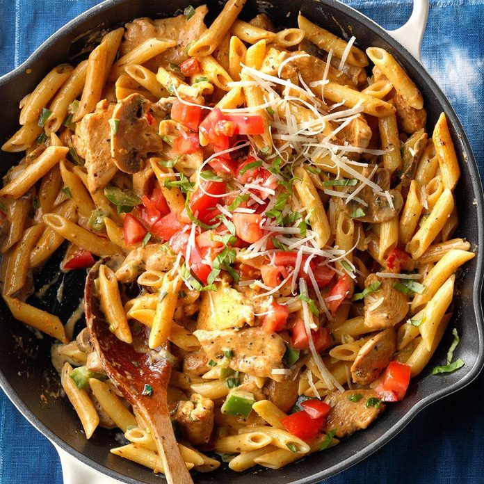 Inspired by: Cajun Chicken Pasta at Chili's