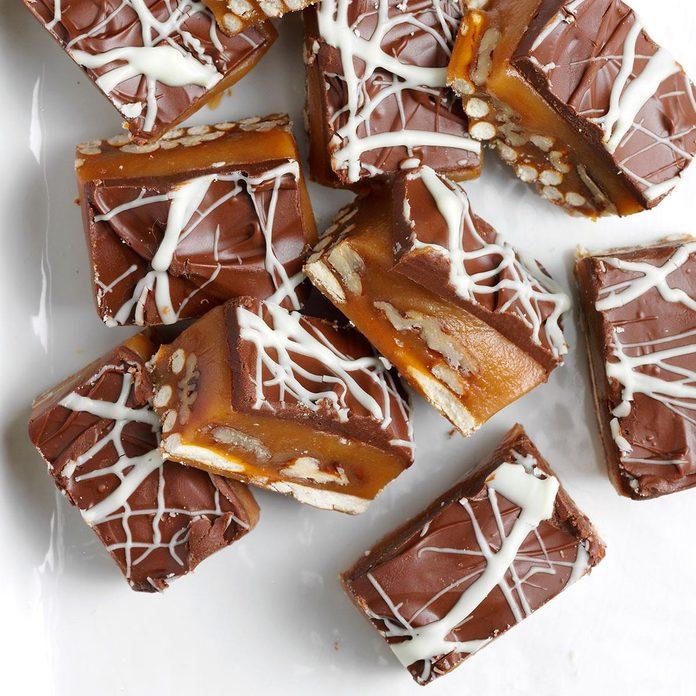 Caramel Pretzel Bites