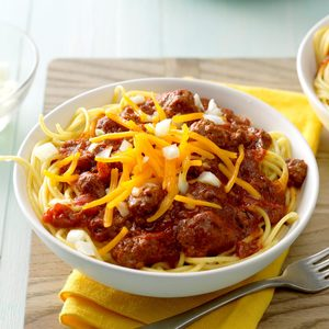 Carrie's Cincinnati Chili
