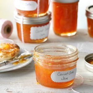 Carrot Cake Jam