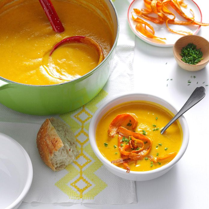 Carrot-Parsnip Bisque