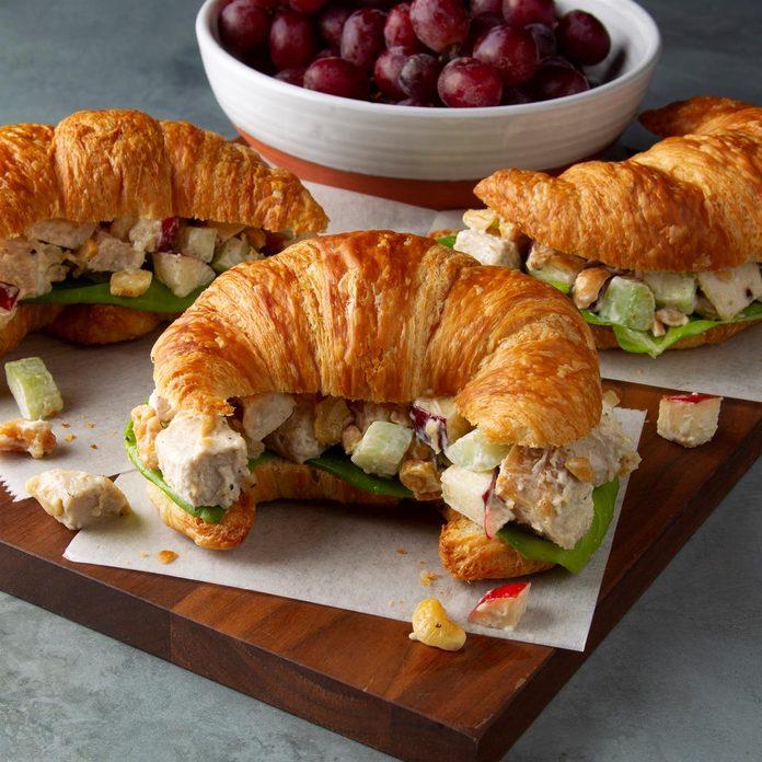 Nebraska: Cashew Chicken Salad Sandwiches