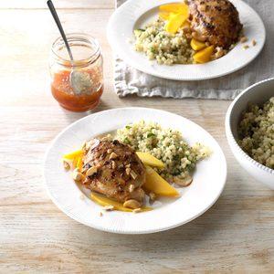 Cashew Mango Grilled Chicken
