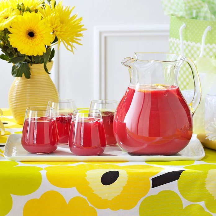 Champagne Fruit Punch
