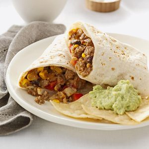 Cheese Beef Burritos