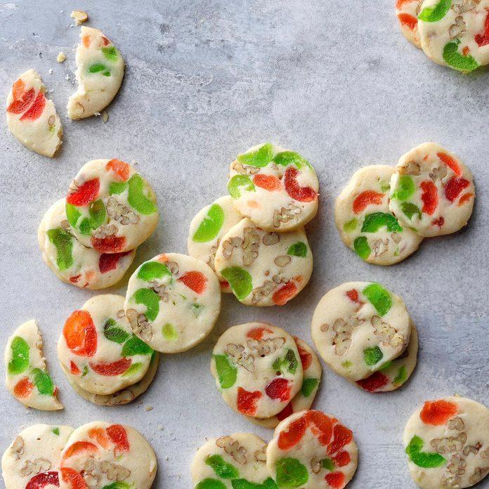 Budding Baker: Cherry Christmas Slices